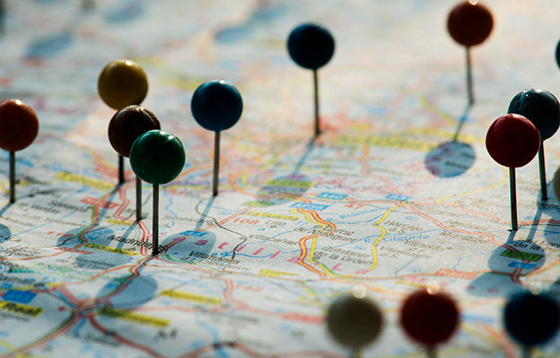Multi locations pin in map | Improve Your Multi-Location Business Marketing With Locl