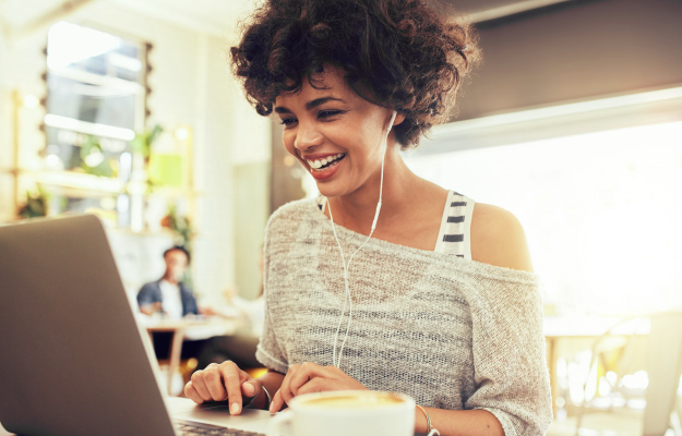 happy-woman-using-laptop | 7 Locl Features and Benefits